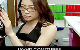oriental office playgirl ibuki bending over and