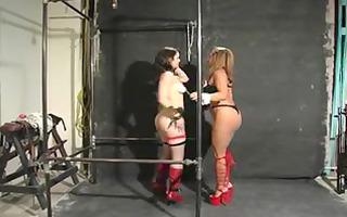 thraldom hotty getting punished