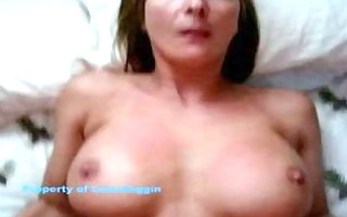 hot aged wife receives large sperm discharged