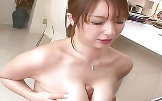 breasty japanese does boobjob