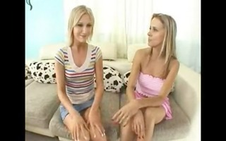 mamma and daughter share a penis