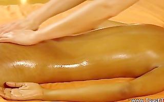 ardent tao massage by lesbo brunette hair