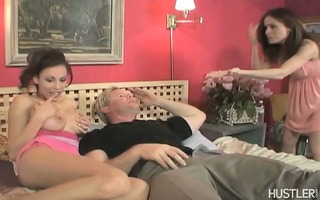 older sweetheart gives dick engulfing lessons to