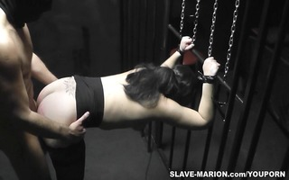 dilettante hotty shackled and group-fucked