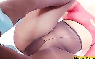 nylon face fetish extraordinary