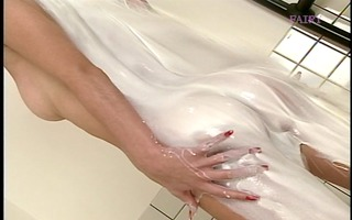 beauty from japan takes a steamy sexy baths