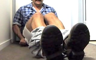 dad felt so good after he is cum his giant load