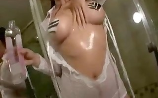 oriental acquires oily in shower