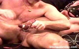 cbt electro muscle fellow bottom leaks precum as