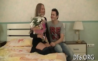 action defloration video scene