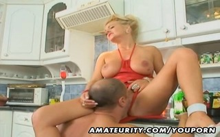 breasty non-professional mother i anal and facial