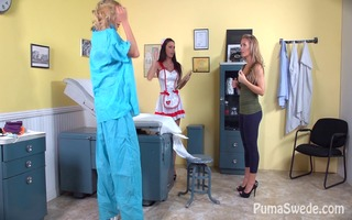 dd doctor! puma swede with nicole aniston +