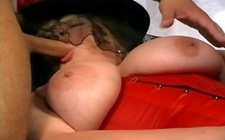 german big beautiful woman in a sexy some with