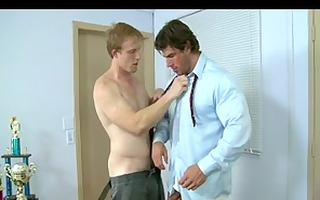 bad student punished by homosexual teacher with