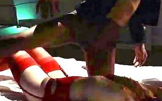 unequalled lesbian babes in hose using belt