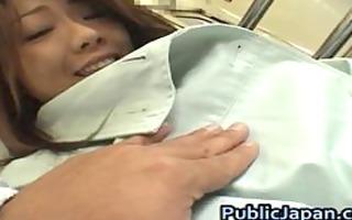 juri wakatsuki lovely oriental model enjoys part0