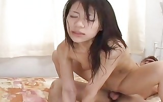 hawt milf riku shiina can to engage in group fuck