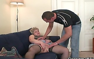 she is takes knobs at one time after masturbation