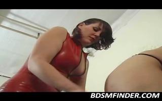 spanked in dark nylons