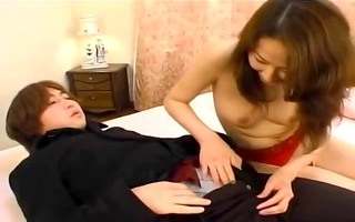 very nice-looking japanese cutie creampied