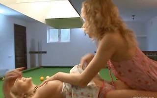 lesbian revenge on the billiards