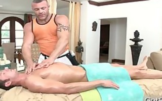 dude acquires shlong sucked during massage part9