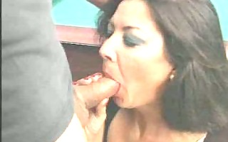 grannys tasting the forbidden fruit