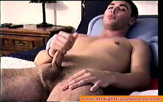 real str stud being wanked by spoiled dilf