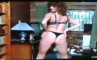 big-haired dark brown grinds sex-toy