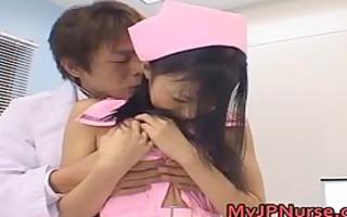 aino kishi pleasing oriental nurse part8