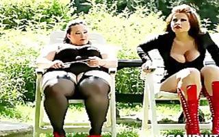 highly chubby bbws humiliating and punishing a