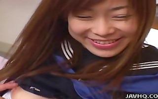japanese schoolgirl drilled