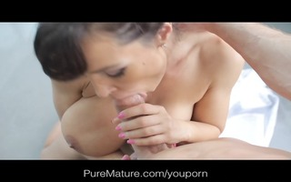 puremature hawt wife thanks hubby for new boob job