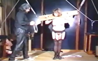 vintage sadomasochism video with hawt slaves p4