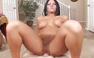 hot booty tattooed milf sucks and rides hard boner
