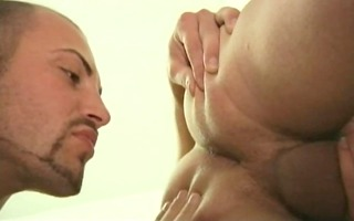fellow punishes his twink!