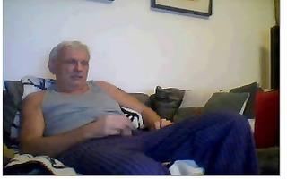 granddad masturbate his dick