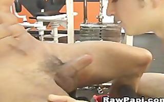 gym time is raw barebacking pont of time