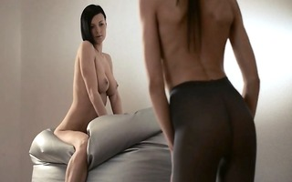 juvenile coed acquires thong on drilled