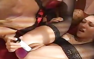 randy lesbo girls having hawt act with ding-dong