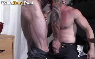 tattooed dad dong feeding frenzy