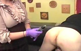 big beautiful woman anally toys her sub