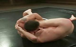 s garb homosexual guys wrestling