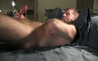bear strokes his wang