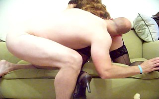 cd non-professional getting vibrator and fucked