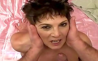 lusty bulky granny acquires screwed hard