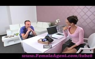 femaleagent. mother i seduces hesitant man
