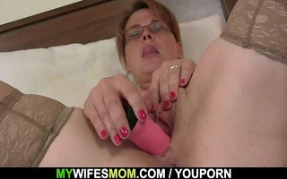 he is finds her masturbating and suggests his