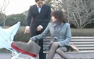 lustful japanese lad caresses asian ladies