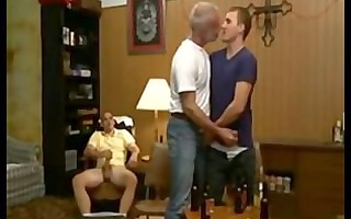grandfather, step-father and step-son sex
